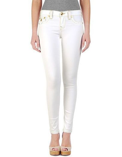 get True Religion Brooklyn Stretch Cord Optic White Cheap sale now | Women's Legging Jeans Cheap Sale | Scoop.it