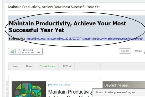 Evernote Tips and Tricks Series - #11 - merge notes, create table of contents, create notebook stacks | Evernote | Scoop.it