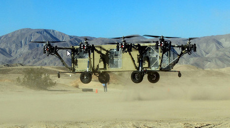 An autonomous Octo-Copter Transport Truck is as amazing as you'd expect | Technology in Business Today | Scoop.it