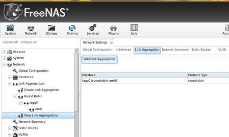 Link Aggregations - Freenas   IT Stuff   Scoop.it