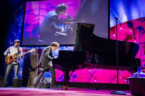 Piano-based soul and swagger: Jamie Cullum at TEDGlobal 2013 ... | Piano | Scoop.it
