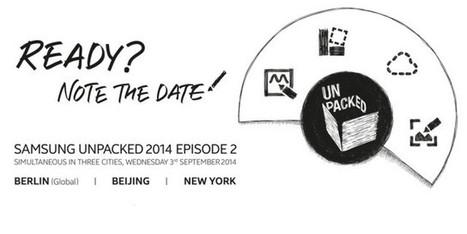 Liveblog: Samsung's Note 4 event starts Wednesday, Sept. 3 at 9:00am ET - Ars Technica   Samsung mobile   Scoop.it