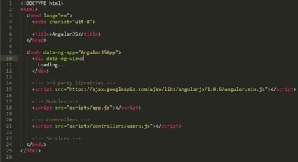Everything you need to understand to start with AngularJS | angularJS | Scoop.it