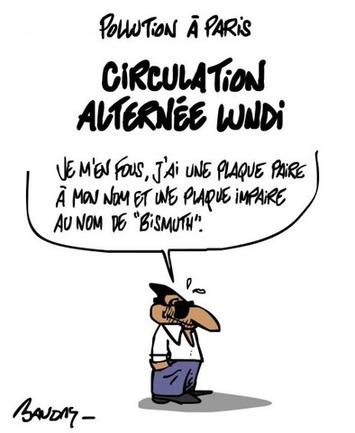 Circulation alternée: la combine à Nico | Baie d'humour | Scoop.it