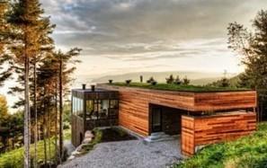 Vorrei una casetta in Canadà... ma che abbia un tetto-giardino! | About gardening | Scoop.it