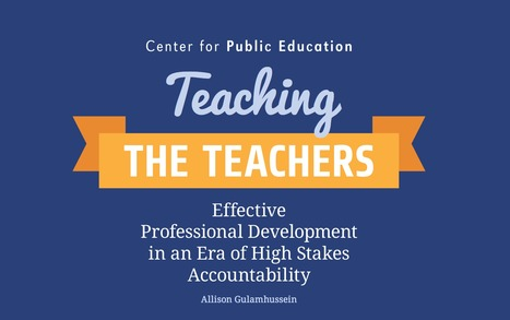 [PDF] Teaching the Teachers | Edumorfosis.it | Scoop.it