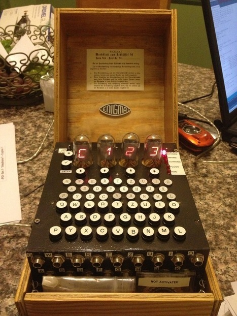 Kickstarting an Arduino-based Enigma machine | Computer Science in Middle and High Schools | Scoop.it