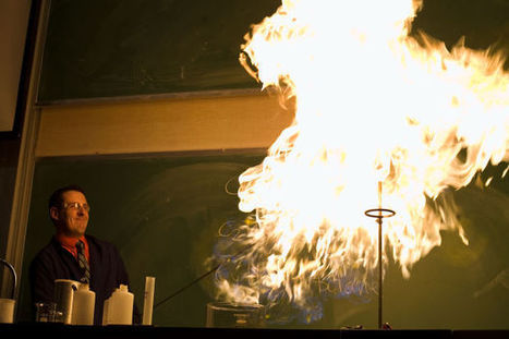BYU shows the magical side of chemistry - Daily Herald   All About Science   Scoop.it