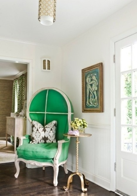 40 Ideas To Use Luxurious Porter's Chairs In Your Interior | PPM AG - Darlings in Interiors | Scoop.it