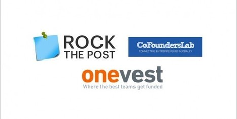 Find A Co-Founder, Fund Your Startup -- All at Onevest | Entrepreneur 2.0 | Scoop.it