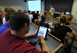 Study results: Students benefit from iPads in the classroom // News // Notre Dame News // University of Notre Dame | Classroom Management | Scoop.it
