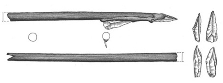 Early Mesolithic flint-tipped arrows from Sweden | Archaeology Articles and Books | Scoop.it