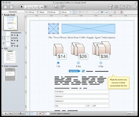 20 Best UX design and Wireframing Tools for Mobile | site UX and Content - ideas, strategies, techniques & the like | Scoop.it
