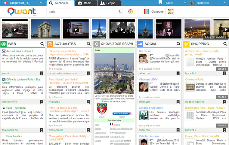 Curate Your Search Results with Qwant | Content...