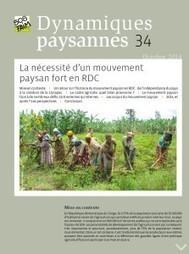 La nécessité d'un mouvement paysan fort en RD Congo | Questions de développement ... | Scoop.it