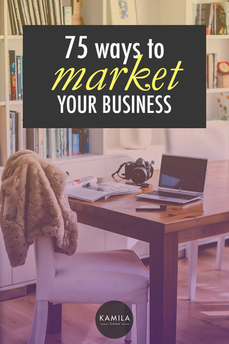 Ideas for Marketing Your Business on a Small Budget | Social Media sites | Scoop.it