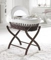 Cloverlea Designs | Moses Basket and Stand | Wicker Moses Basket and Stand | Kids Bed Linen | Scoop.it