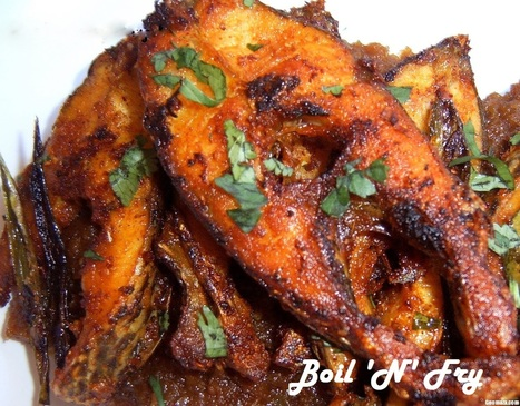 How to Make Butter Fish Fry | A Bengali Cuisine Recipe | Boil 'N' Fry | Boil N Fry | Scoop.it