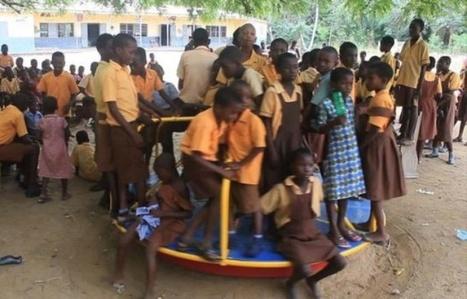 Au Ghana, du courant grâce à des tourniquets dans les cours de récréation   eco   Scoop.it
