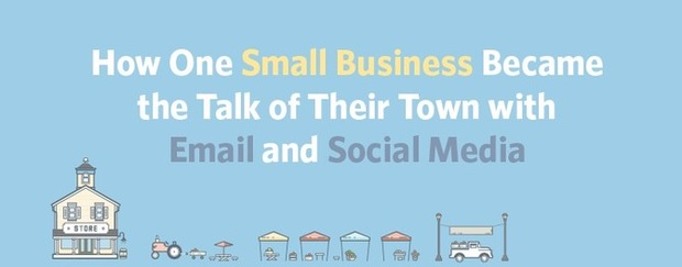 How One Small Business Became the Talk of Their Town with Email and Social Media | Constant Contact Blogs | Social Media News | Scoop.it