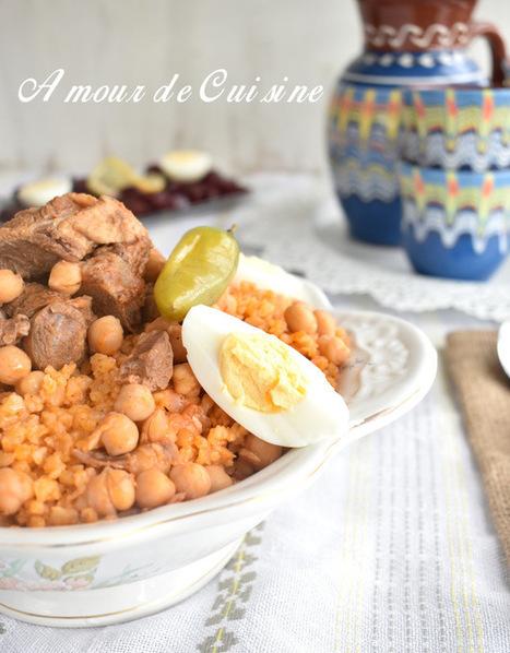 chekhchoukha constantinoise, chakhchoukha de constantine | Cuisine Algerienne, cuisine marocaine, cuisine tunisienne, cuisine indienne | Scoop.it