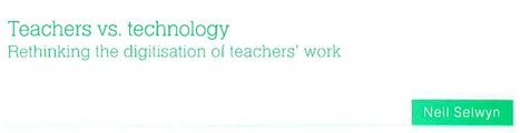 [PDF] Teacher vs Technology | Aprendiendo a Distancia | Scoop.it