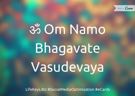 ॐ Om Namo | Social Media Tips | Scoop.it