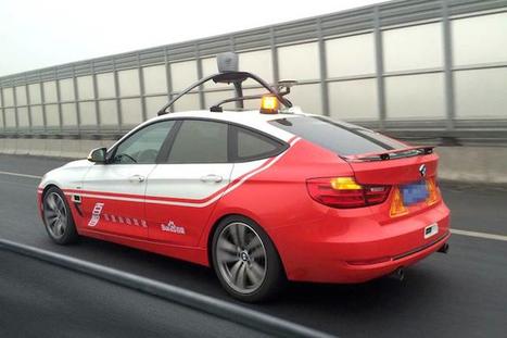 [Véhicule autonome] Baidu embarque ses premiers passagers dans sa voiture autonome en Chine | Objets connectés et internet des objets | Scoop.it