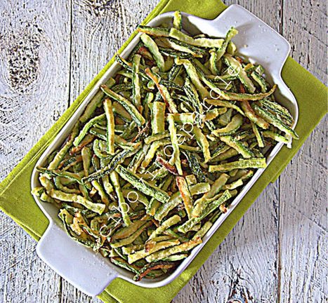 CIBO,VINO E PAROLE: Zucchine fritte a fiammifero | FOOD BLOG | Scoop.it