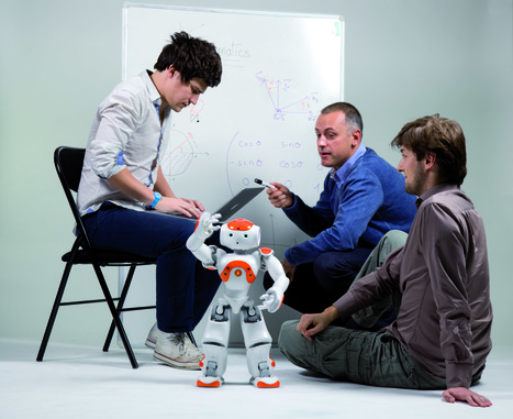The future of education... NAO! | BarFabLab | Scoop.it