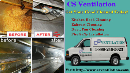Commercial Kitchen Ventilation Systems | CS Ventilation Boston Hood Cleaning | Scoop.it