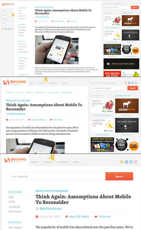 UI Design Guidelines for Responsive Design   Codrops   The World Of E-learning   Scoop.it