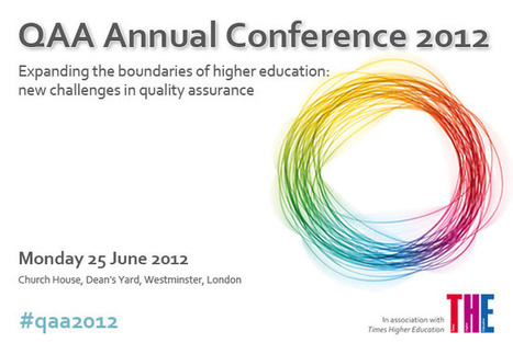 QAA Annual Conference 2012 | Quality assurance of eLearning | Scoop.it