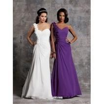 A-line Bateau Neckline chiffon Knee-length Bridesmaid Dress(BD0964) | Press Release from dressmebridal.co.uk | Scoop.it