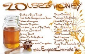 This is Important: SWEET and STICKY: 20 USES FOR HONEY (UPDATED) | Life G.O.N.E. Wild | Scoop.it