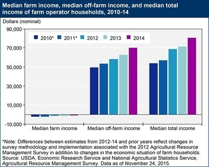 USDA ERS - Farm Household Well-being: Farm Household Income (Historical) | Permaculture, Horticulture, Homesteading, Bio-Remediation, & Green Tech | Scoop.it