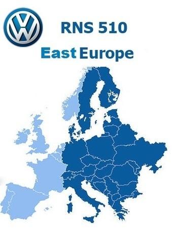 Mape za Volkswagen RNS510 i RNS810 Fabričke Navigacije | Navigacija | Scoop.it