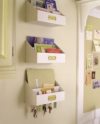 Organizing Ideas For Wall Spaces To Get Organized | Home & Office Organization | Scoop.it