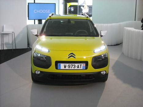 Découverte statique de la Citroën C4 Cactus (+ Galeries) | Actualités carrosserie et automobile | Scoop.it