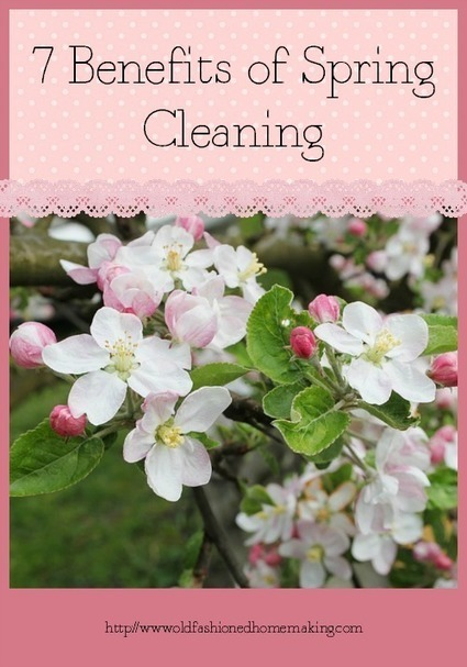 7 Benefits of Spring Cleaning | Homemaking | Scoop.it