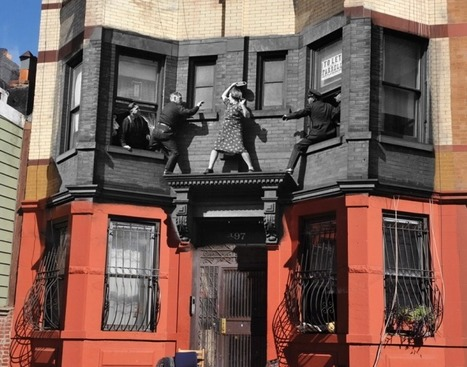 497 Dean St. Brooklyn, N.Y. - New York City then & now: Famous Daily News photos brought back to life...   Art for art's sake...   Scoop.it