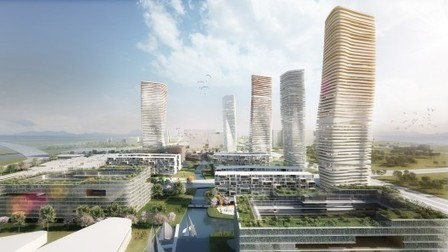 Wuxi, China Masterplan: Mixed Use Building Complex Proposal / ATENASTUDIO | The Architecture of the City | Scoop.it