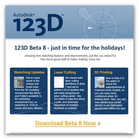 Autodesk 123D - Download Free 3D Modeling Software | Top CAD Experts updates | Scoop.it