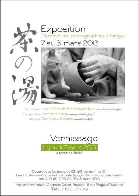 Chanoyu (Cérémonie du thé) et Céramique japonaise à Toulouse | Le Japon et la culture japonaise à Toulouse. | Scoop.it