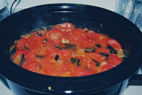 Chunky Tomato Sauce - The Honest Dish | The Honest Dish | Scoop.it
