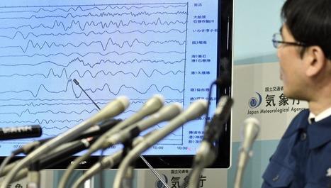 Alerta de tsunami en Japón tras un terremoto de magnitud 7,3 | CTMA | Scoop.it