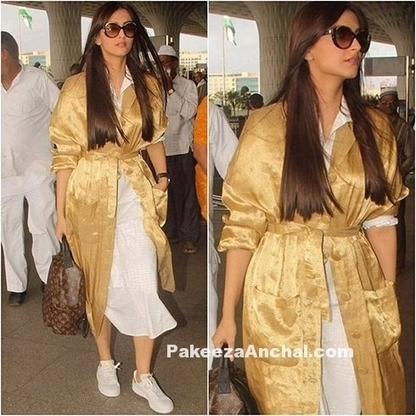 Sonam Kapoor in Rajesh Pratap Singh's outfit at Airport | Indian Fashion Updates | Scoop.it