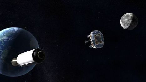 Israel could send the first privately-funded mission to the Moon on a Falcon 9 rocket | The NewSpace Daily | Scoop.it