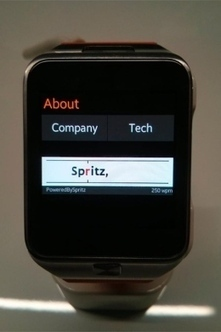 Spritz Unveils New Text-Streaming Technology - The Heights (subscription) | Brdcst | Scoop.it