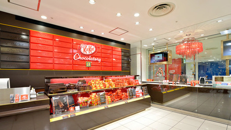 The World's First Kit Kat Store, and Other Brand-Building Retail Endeavors | International business | Scoop.it